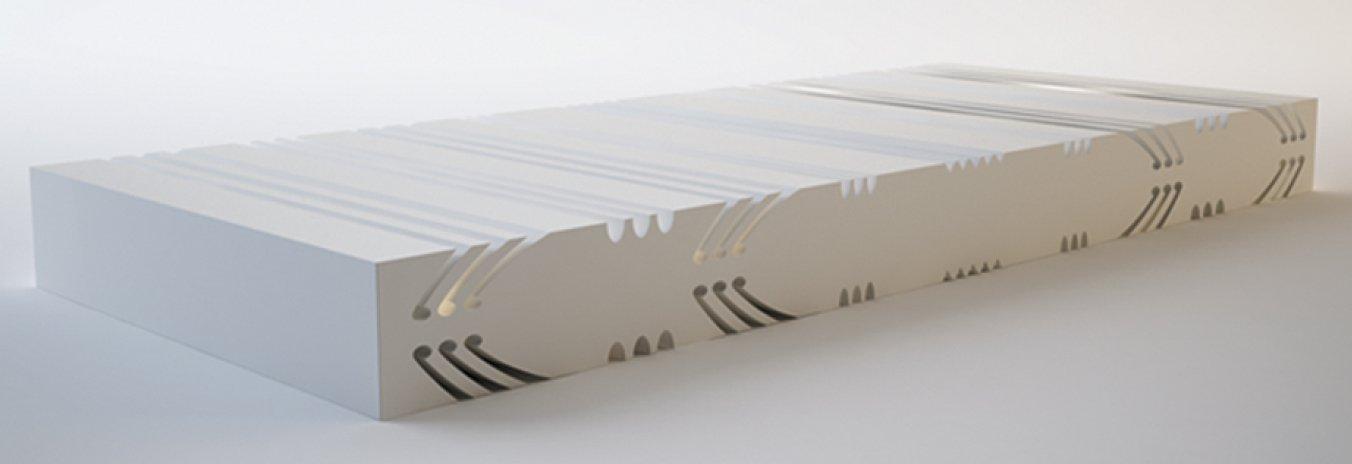 Núcleos personalizables de Interplasp para colchones